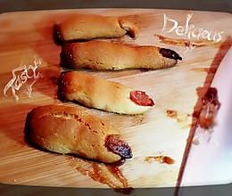 【万圣节】黑暗料理の怪兽断指饼干【慎入!】的做法
