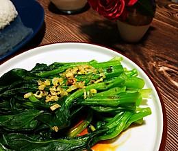 蒜香广东菜心的做法