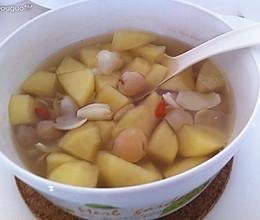 百合苹果汤的做法