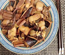 香焖鱿鱼干的做法