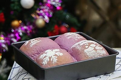 喷花紫薯软欧