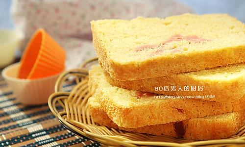 面包机版火腿面包的做法