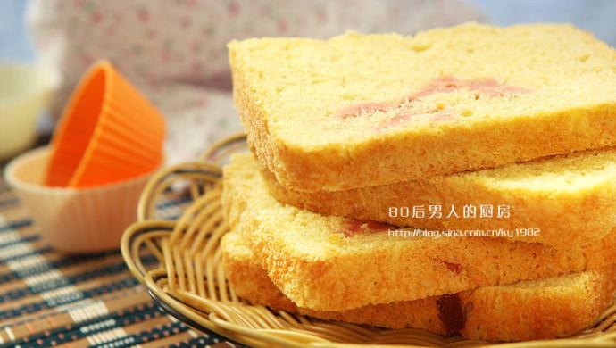 面包机版火腿面包
