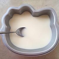 hello kitty蜜豆牛奶冻的做法图解7