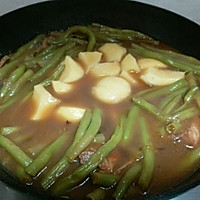 土豆芸豆炖排骨的做法图解9