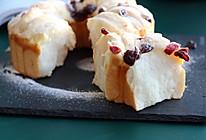 #秋天怎么吃#日式香浓炼乳面包的做法