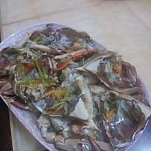 清蒸螃蟹(角蟹)