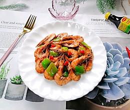 #下饭红烧菜#爆炒基围虾的做法