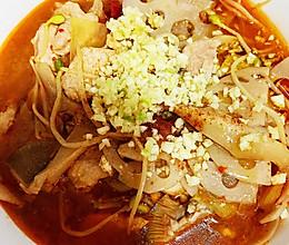 麻辣鲜香的家庭版水煮肉片的做法