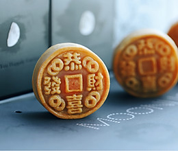 饼店老师傅的传统广式莲蓉蛋黄月饼的做法