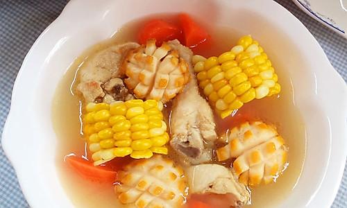 玉米鲜鲍炖鸡汤------利仁电火锅试用菜谱的做法