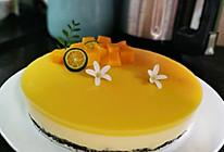 无淡奶油版8寸芒果酸奶慕斯蛋糕的做法