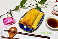黄芽菜肉丝春卷的做法