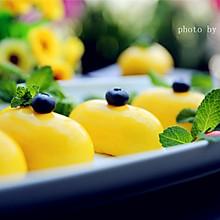 芒果淋面慕斯蛋糕#有颜值的实力派#