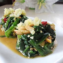 姜汁菠菜墩