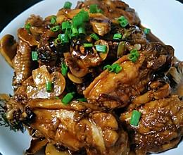 蜜汁蘑菇鸡翅的做法