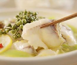 金汤柠檬藤椒鱼【孔老师教做菜】的做法