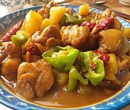 #美食视频挑战赛# 新疆大盘鸡 家庭版(简单好做)的做法