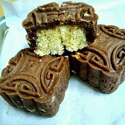 巧克力椰蓉月饼