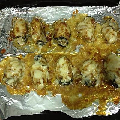 芝士焗牡蛎