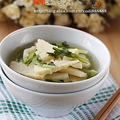 美味又减肥的雪菜熇春笋