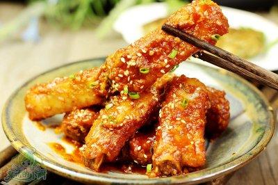 秘制韩式辣小排+#我买新鲜味#