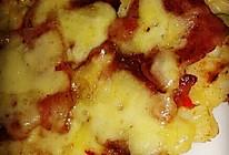 芝士培根土豆丝饼的做法
