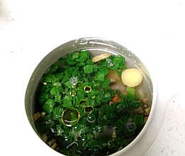 幼儿菜粥的做法