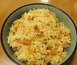 咸鸭蛋黄炒蛋的做法