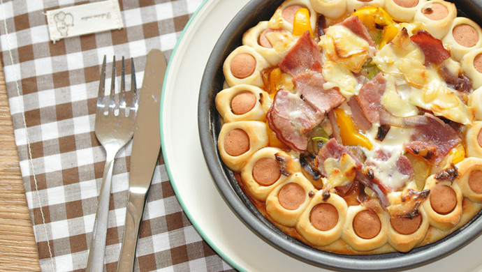 一食半刻 | 春日田园披萨
