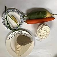 #年味十足的中式面点#山东萝卜丝豆腐卷的做法图解1