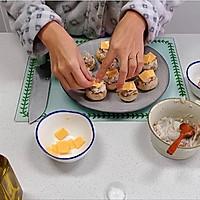 芝士培根芋泥烤口蘑—快手小食系列的做法图解14