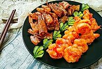 一虾两吃――《外科风云》同款:香酥虾壳&茄汁虾球的做法