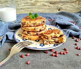 奶香红豆饼的做法