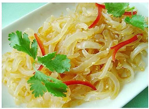 夏季小菜 凉拌海蜇皮的做法