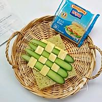 菠菜豌豆绿菠萝#百福吉食尚达人#的做法图解8