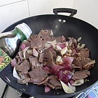 菁选酱油试用之——孜然洋葱炒牛肉的做法图解8