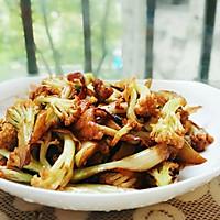 干锅花菜的做法图解4