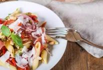 【地中海火腿意面沙拉】秀色可餐的做法