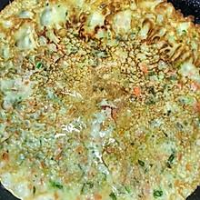 蔬菜煎饼#蒸派or烤派#