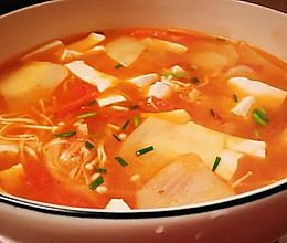 四物汤—蔬菜汤(素食)的做法