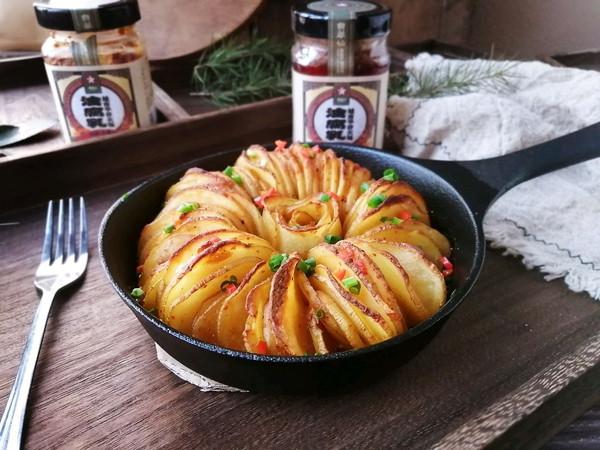 腐乳烤土豆,一样调料就能做,简单美味的做法
