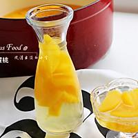 夏季小清新:糖水黄桃#厨房致欲系#