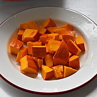 #一人一道拿手菜#南瓜红豆饭的做法图解3