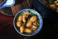 排骨蘑菇汤的做法