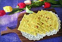 土豆丝葱香鸡蛋饼的做法