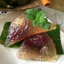紫薯西米粽