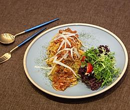 媲美西餐厅的番茄肉酱意面的做法
