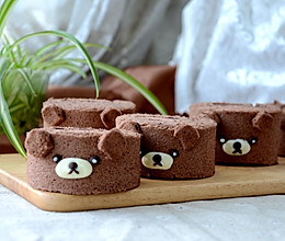 轻松熊可可蛋糕卷的做法