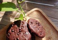 巧克力豆曲奇#有颜值的实力派#的做法